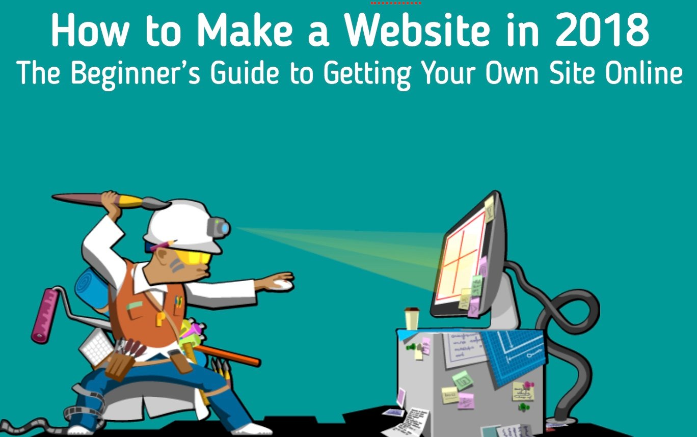 How To Make A Website In 2019 The Complete Beginners Guide Depending Upon Much You Want Do Can Leave It There Or Give