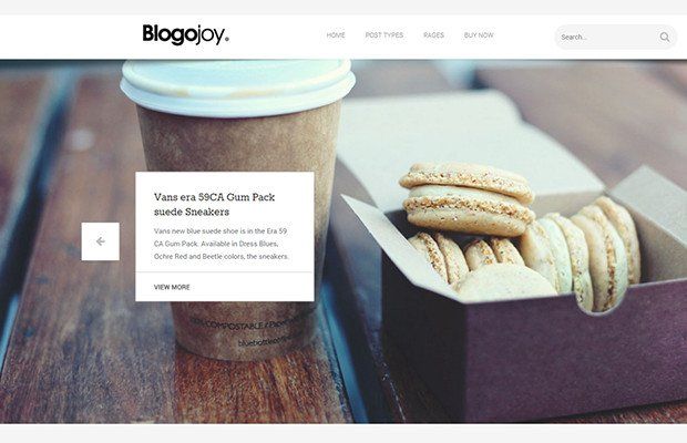 Blogojoy Theme Screenshot