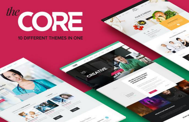 Core Theme Screenshot
