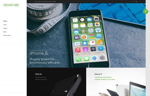 DW Store Theme Screenshot