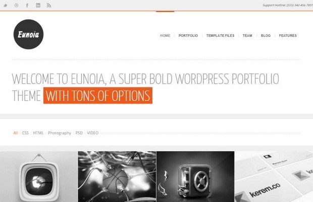 Eunoia Theme Screenshot
