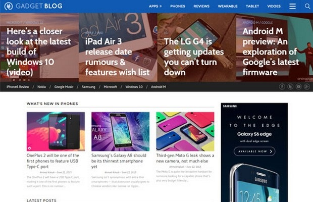 GadgetBlog Theme Screenshot