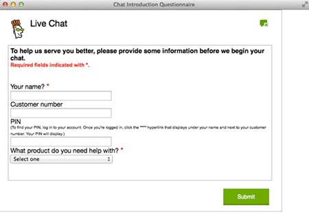 GoDaddy chat support