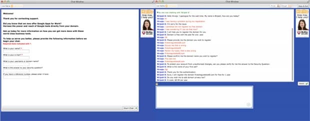 iPage chat support