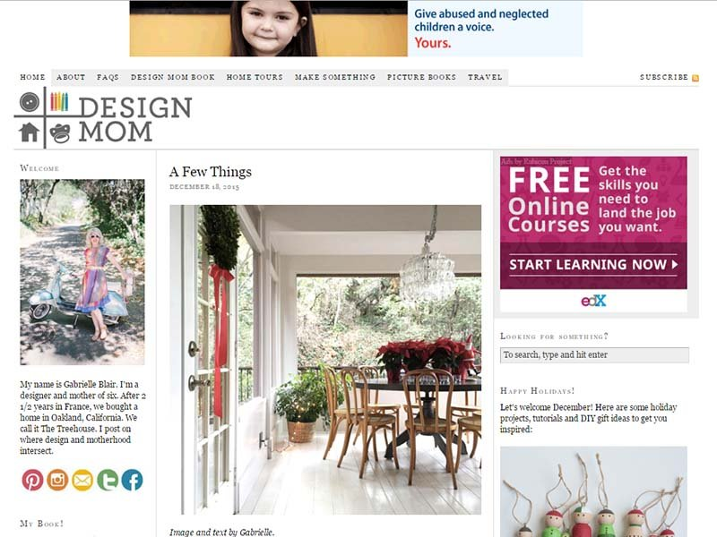 Design Mom - Website Screenshot