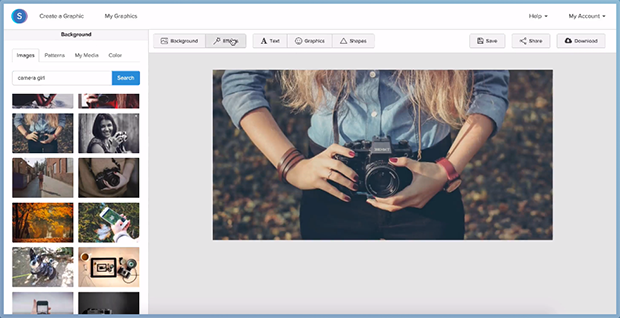 Christopher Gimmer - Snappa Screenshot