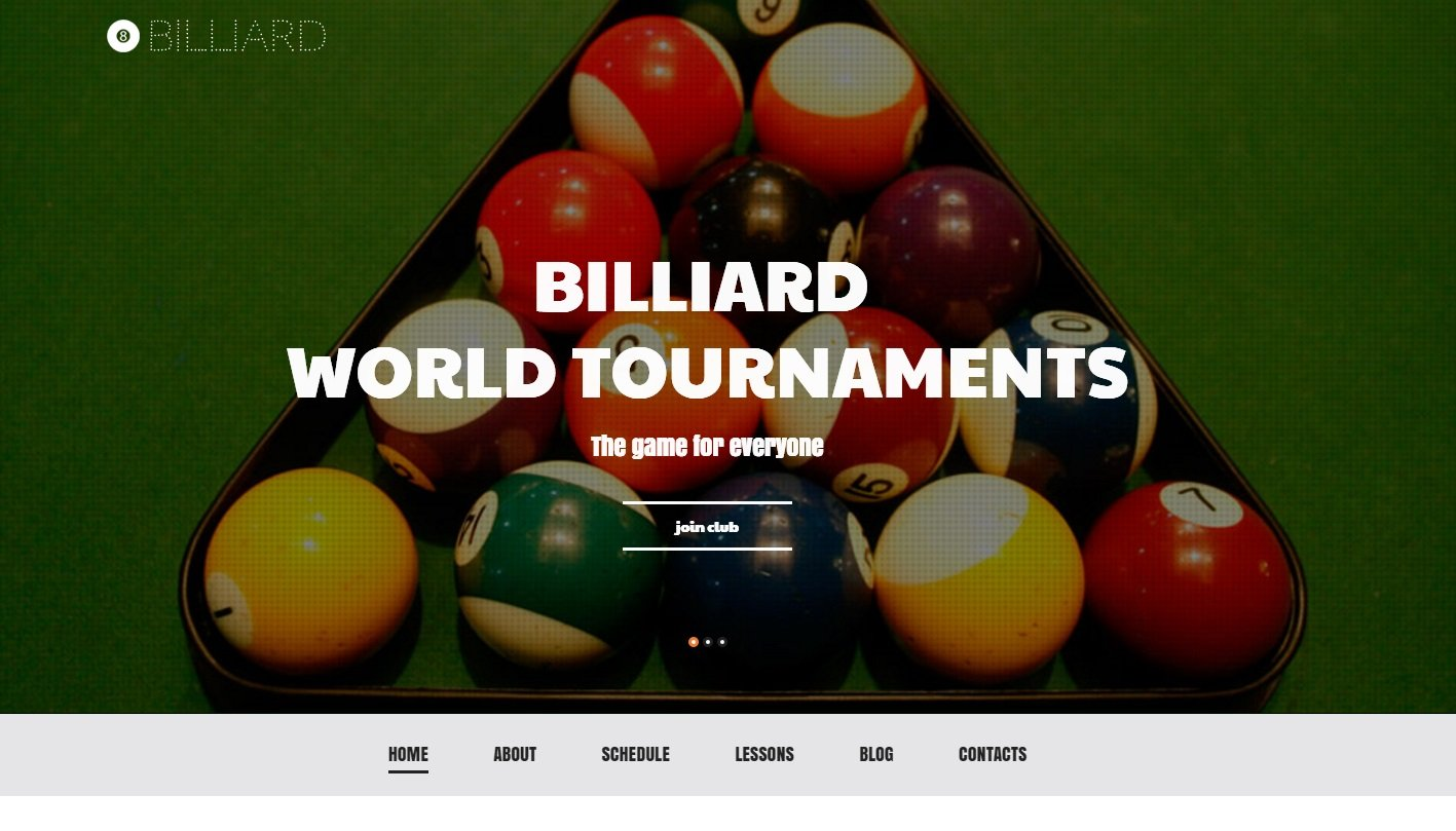 billiard-wordpress-theme