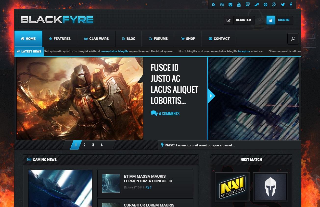 blackfyre-gaming-wordpress-theme