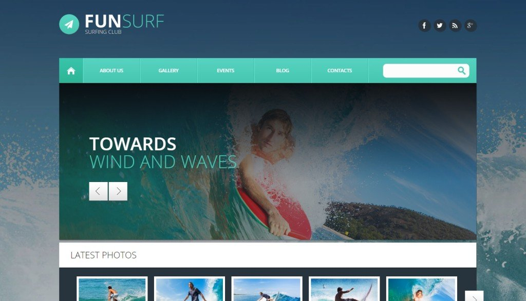 Funsurf WordPress Theme