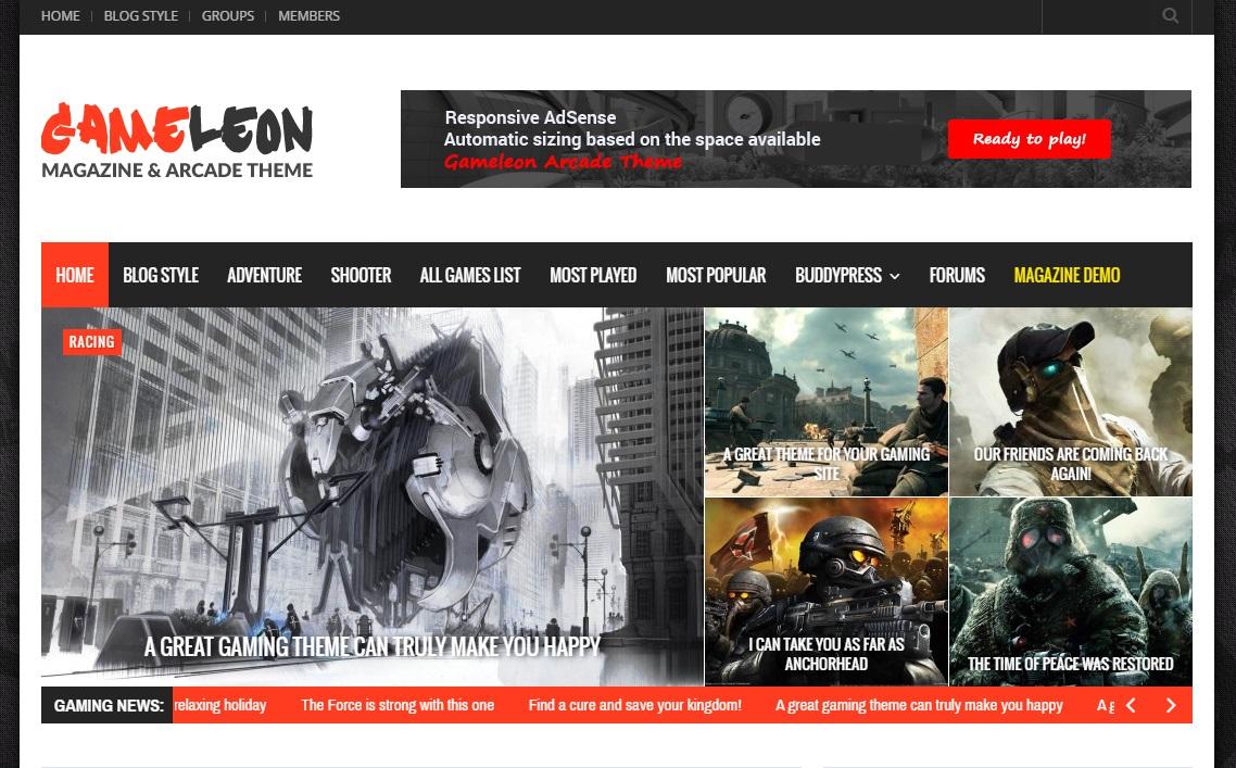 gameleon-wordpress-theme