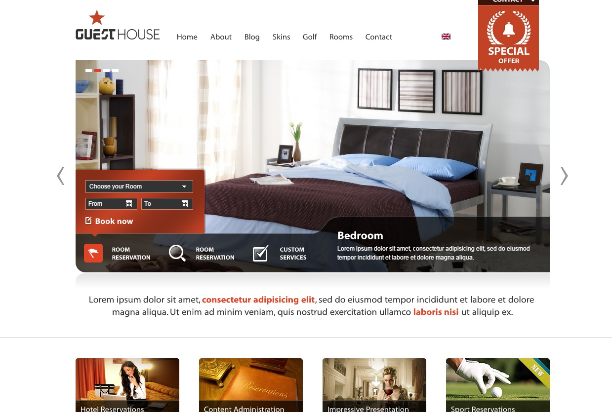guest-house-wordpress-theme