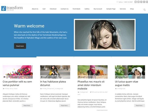 i-transform-wordpress-theme