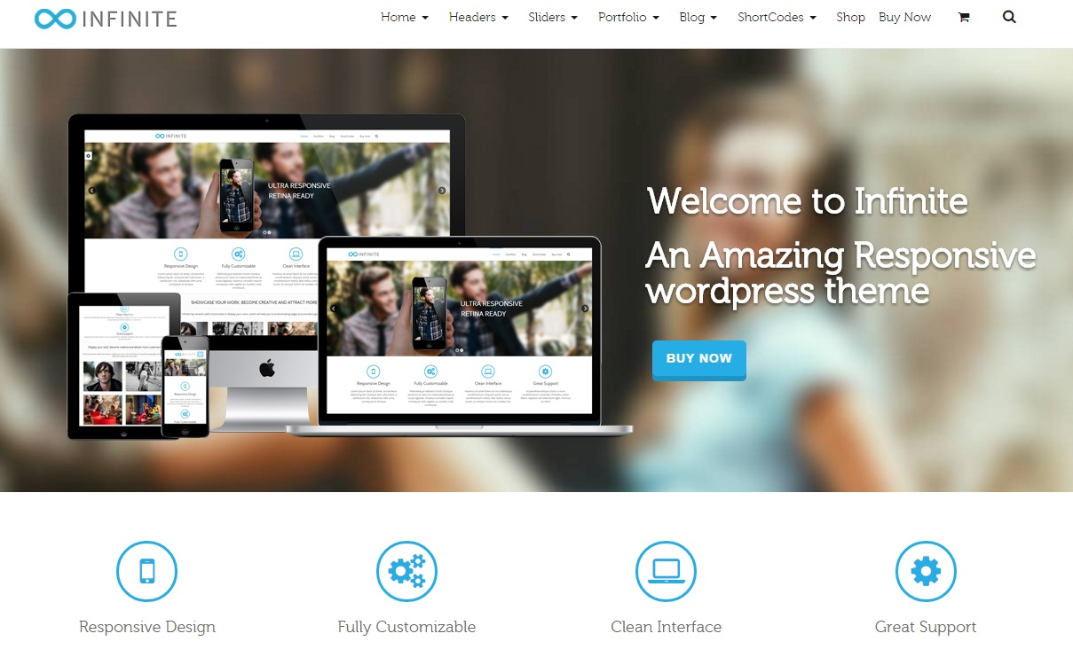 infinite-wordpress-theme