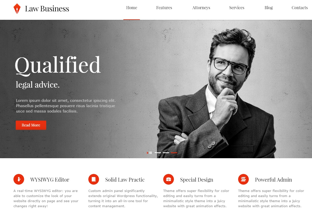 law-business-wordpress-theme