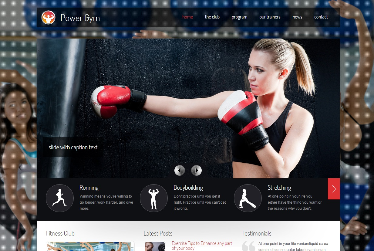 power-gym-wordpress-theme