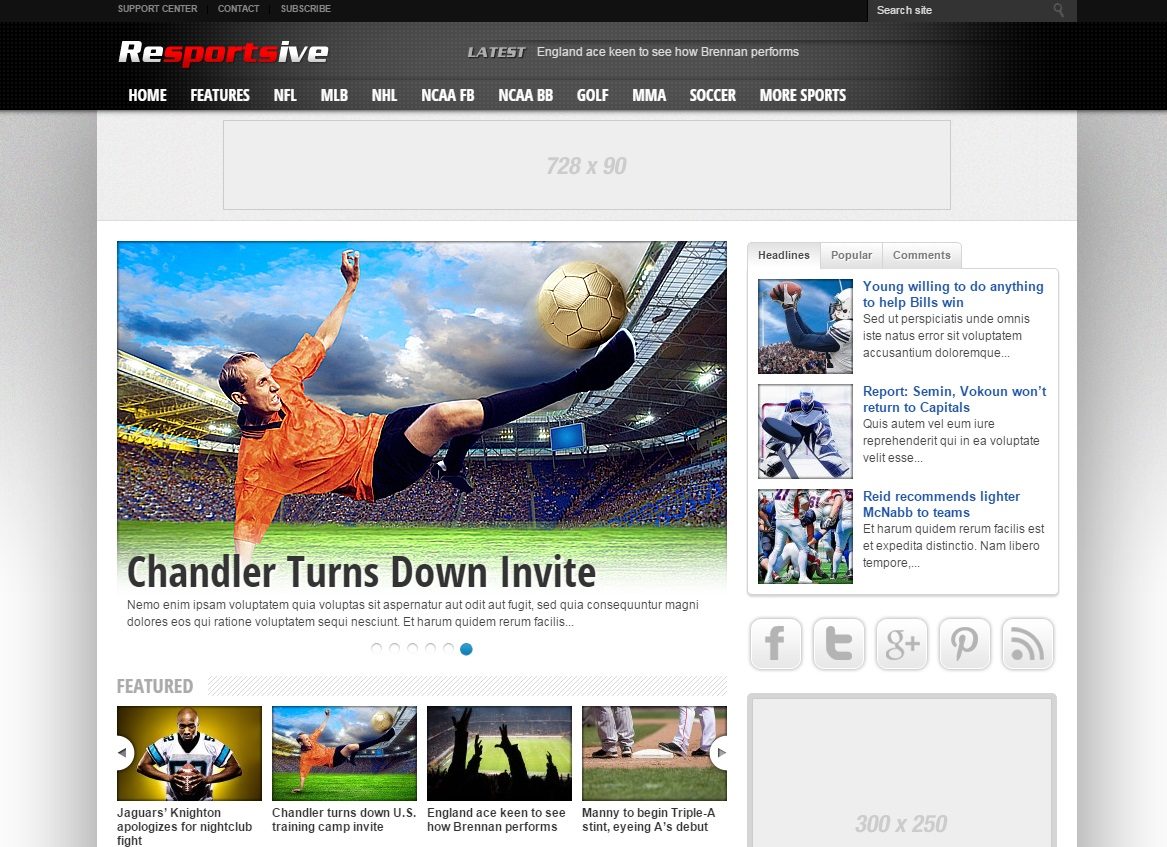 resportsive-wordpress-theme