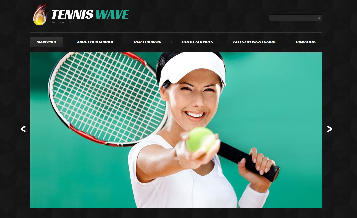 tennis-wave-wordpress-theme
