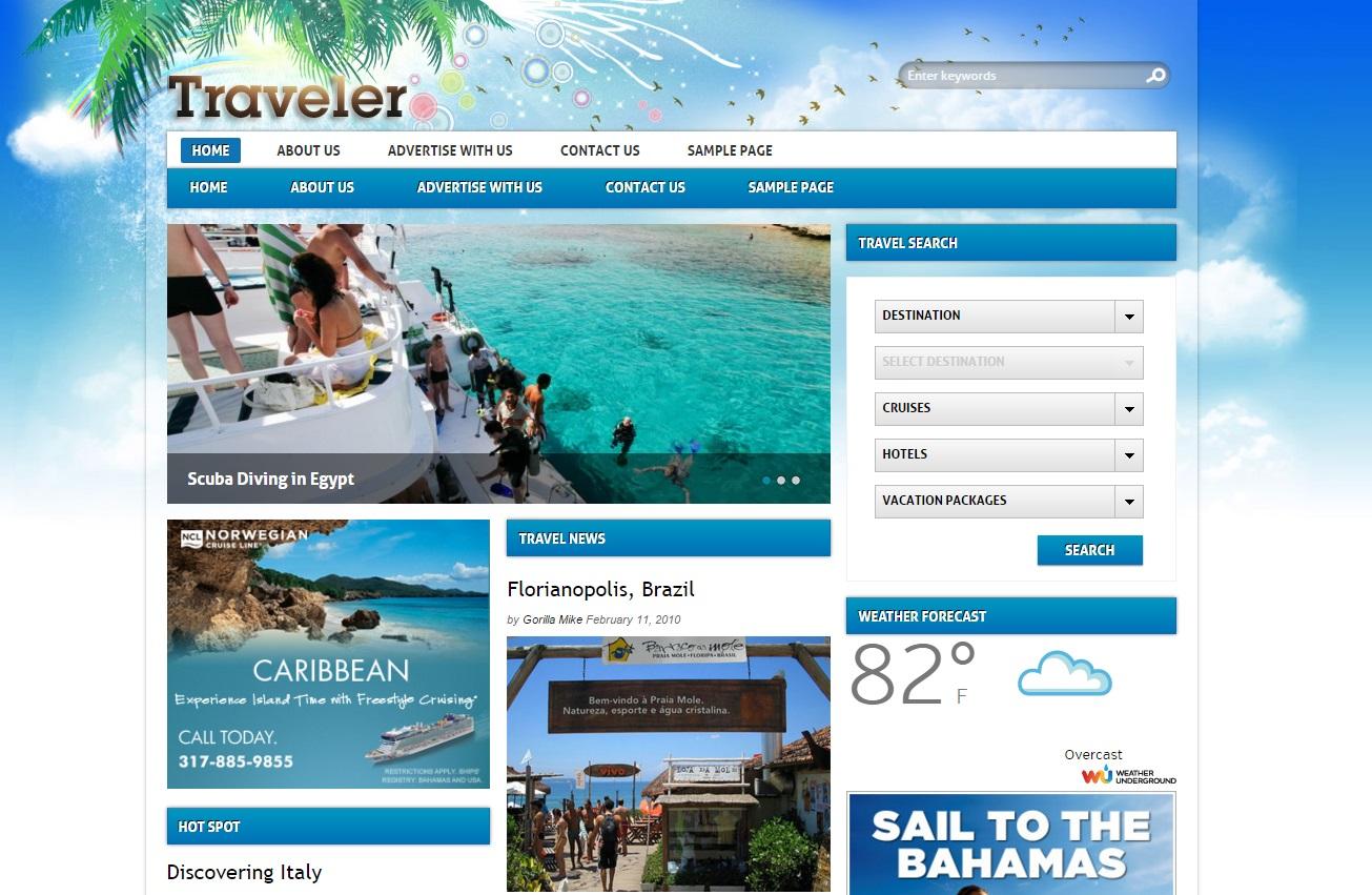 traveler-wordpress-theme