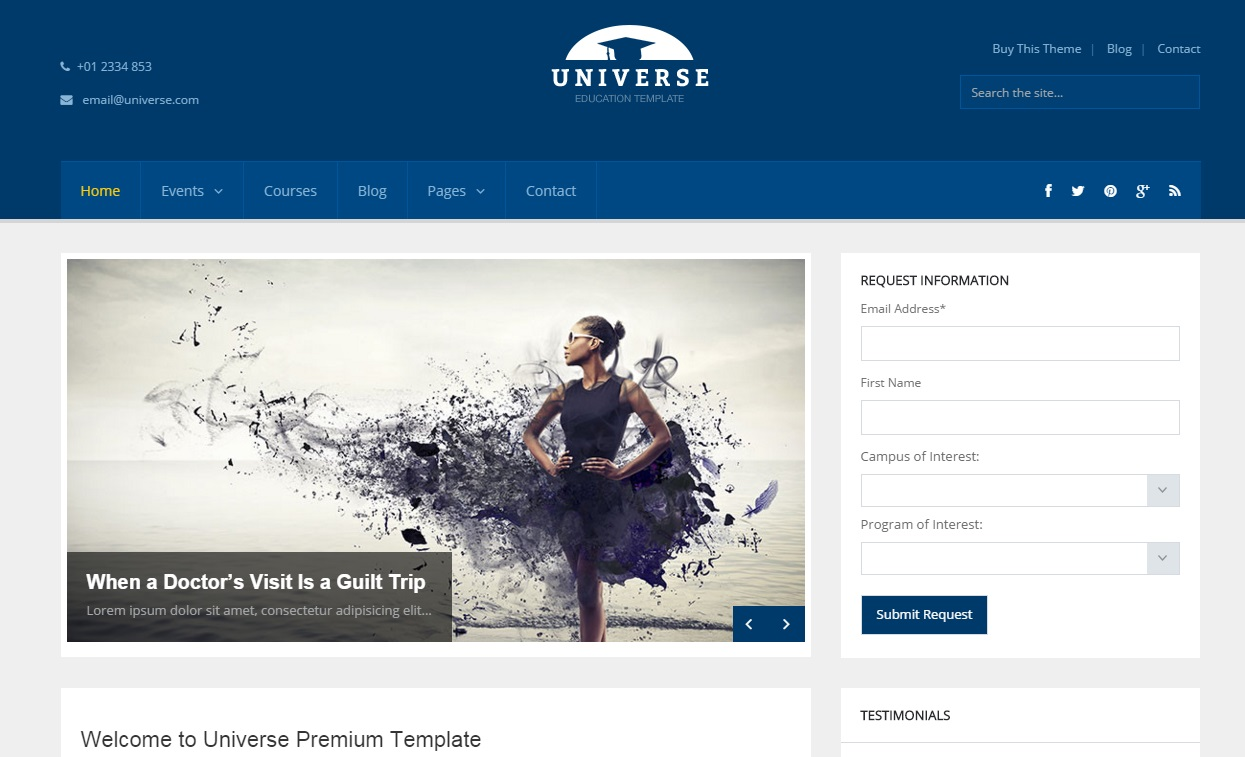 universe-wordpress-theme