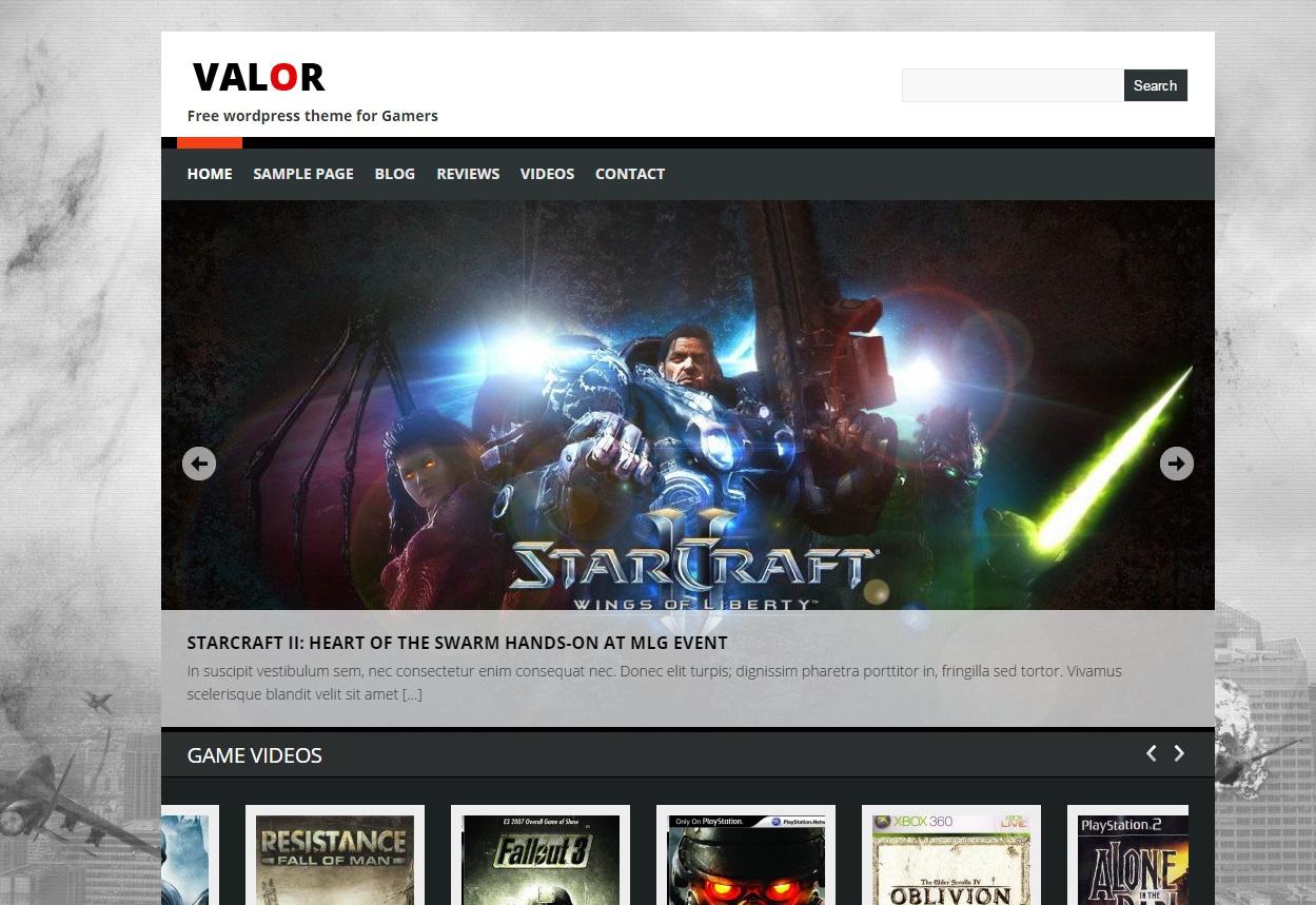 valor-gaming-wordpress-theme