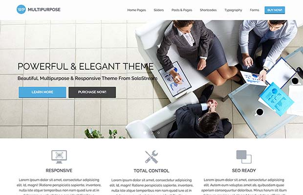 WP Multipurpose Theme Screenshot