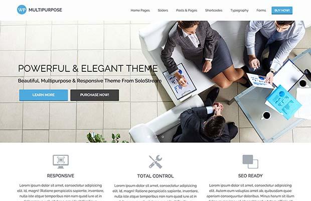 WP Multipurpose Theme Screenshot
