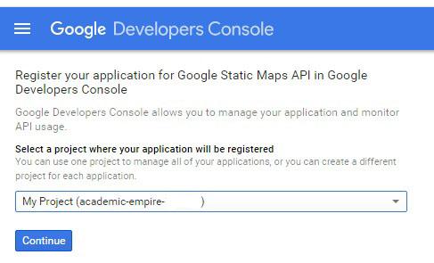 google maps api web application