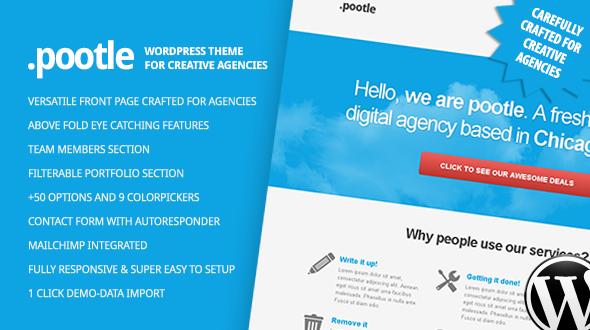 Pootle - premium WordPress theme