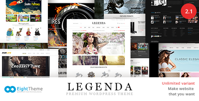 8Theme Interview - WP theme LEGENDA