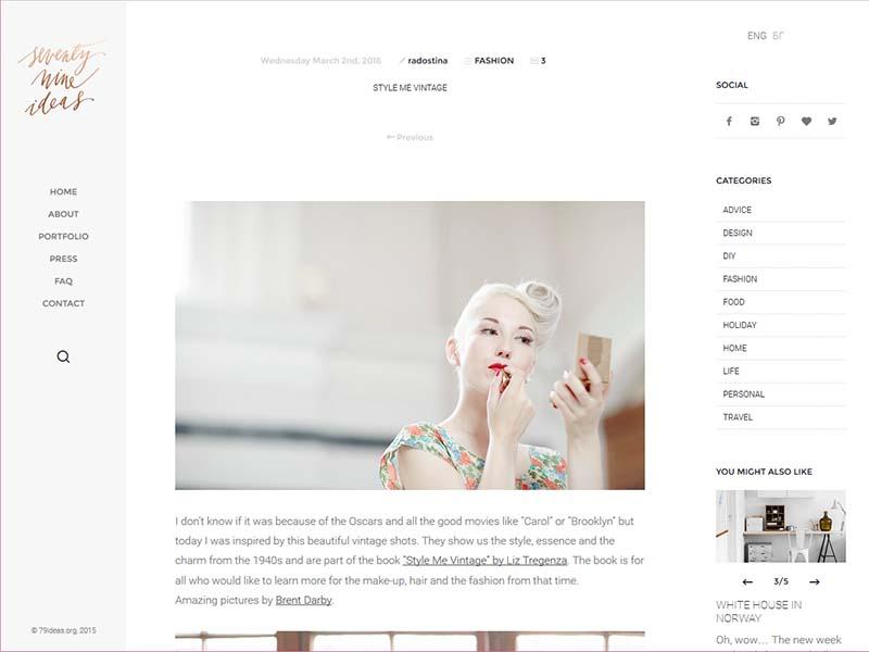 79ideas - Website Screenshot