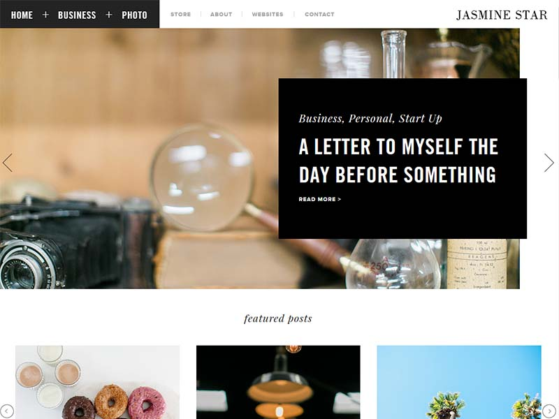 Jasmine Star - Website Screenshot