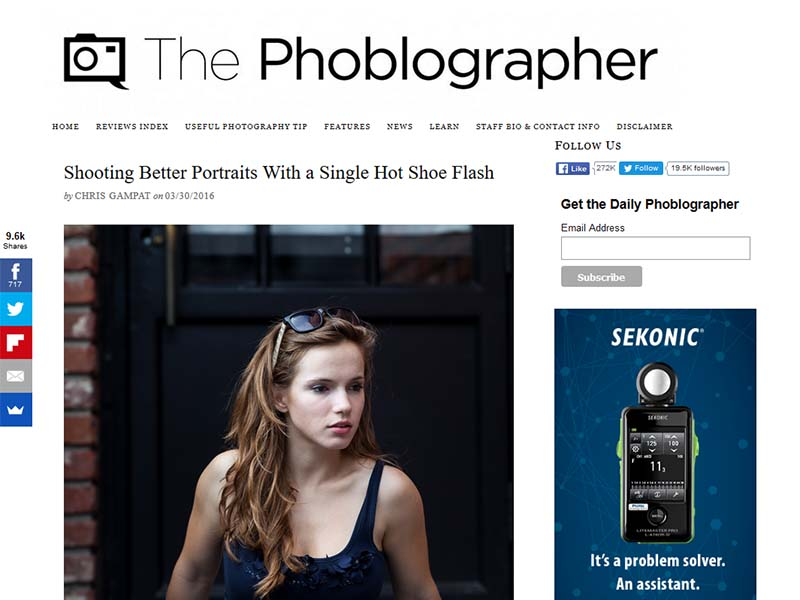 The Phoblographer - Website Screenshot