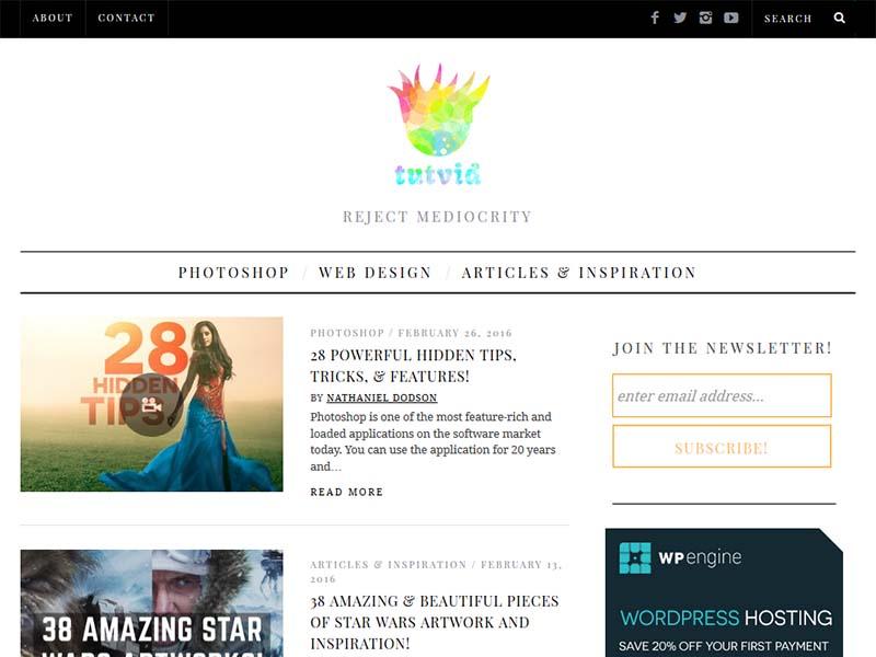 Tutvid - Website Screenshot