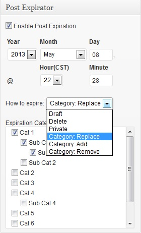 How to add an expiration date for you WordPress posts and pages