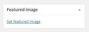 Change Featured image text in admin pages