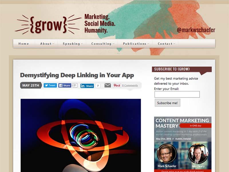 Businesses Grow - Website Screenshot