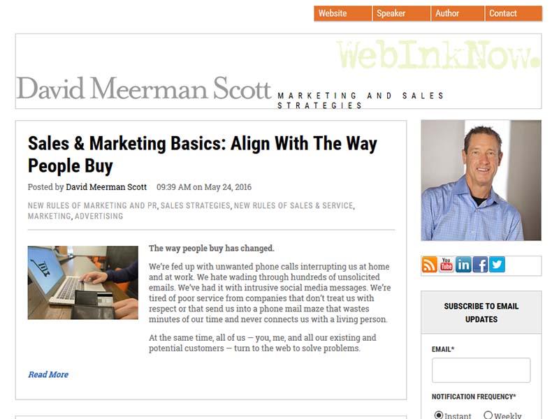 Web Ink Now - Website Screenshot