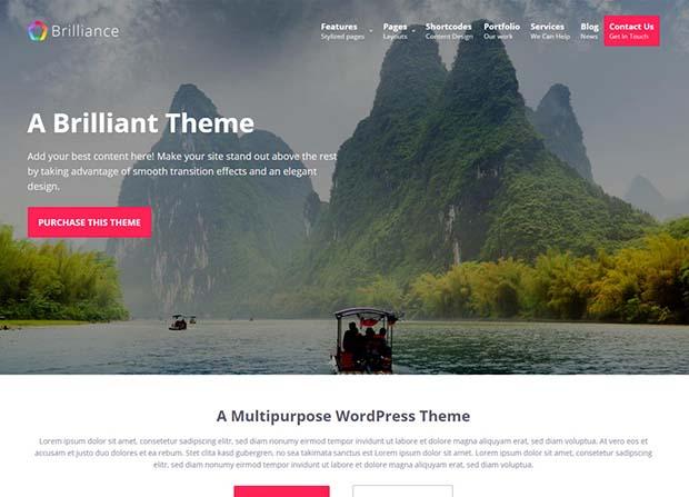 Brilliance Theme Screenshot