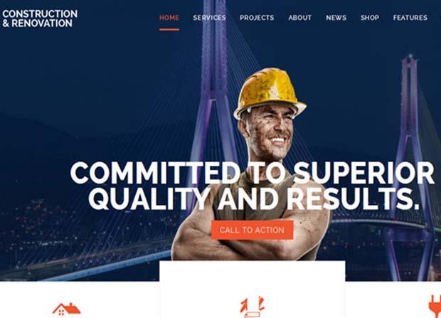 Builder Theme Screenshot