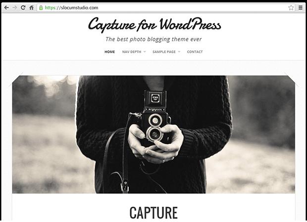 Capture Pro Theme Screenshot