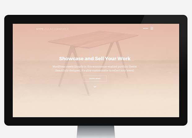 Hype Theme Screenshot