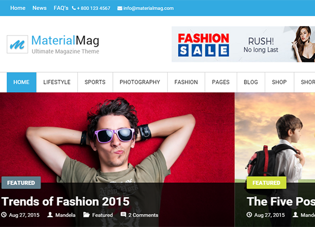 MagazinMag Theme Screenshot