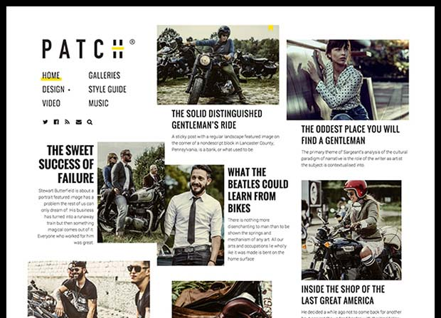 Patch Theme Screenshot