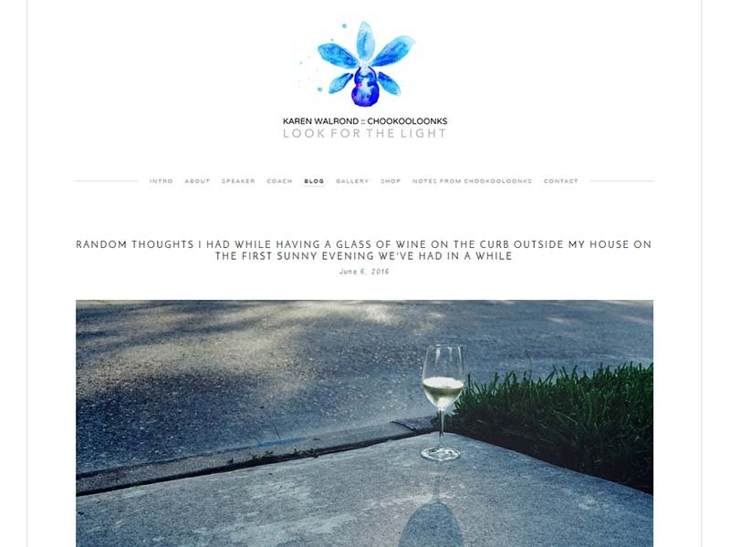 Chookooloonks - Website Screenshot
