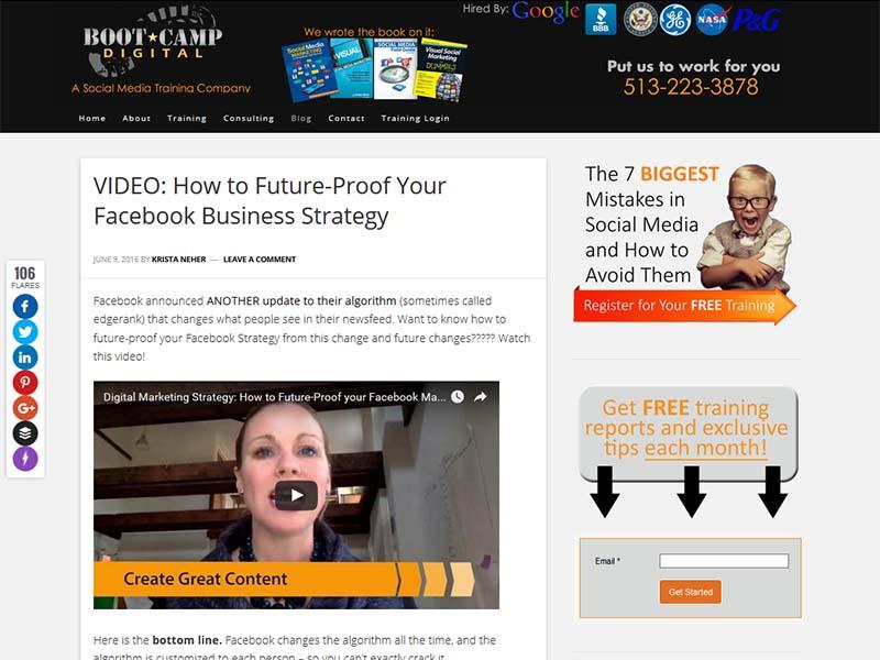 Bootcamp Digital - Website Screenshot