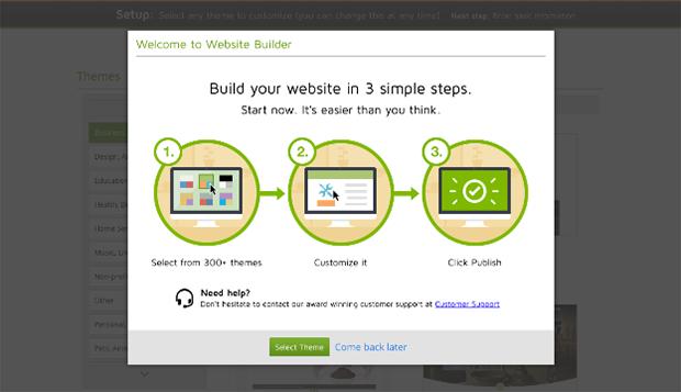 GoDaddy Website Options
