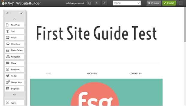 GoDaddy Website Editor GSG Test Page