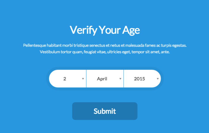 Age Verifier for WordPress