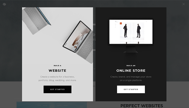 Squarespace Get Started