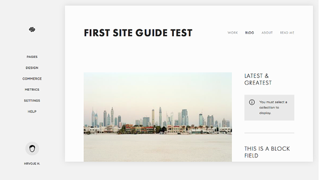 Squarespace Test Page